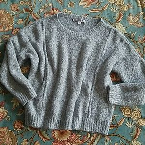 A shimmery stunner of a sweater!